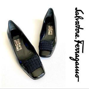 Salvatore Ferragamo • Patent leather heels